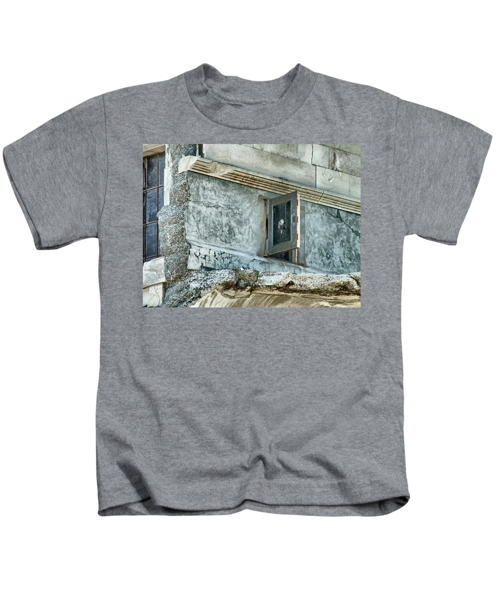 Safe Kids T-Shirt featuring the photograph You're Only Supposed To Blow The Bloody Doors Off by Steve Taylor
