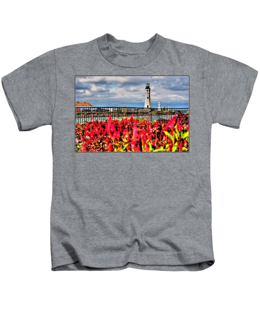 Kids T-Shirt featuring the photograph 005 Summer Sunrise Series by Michael Frank Jr