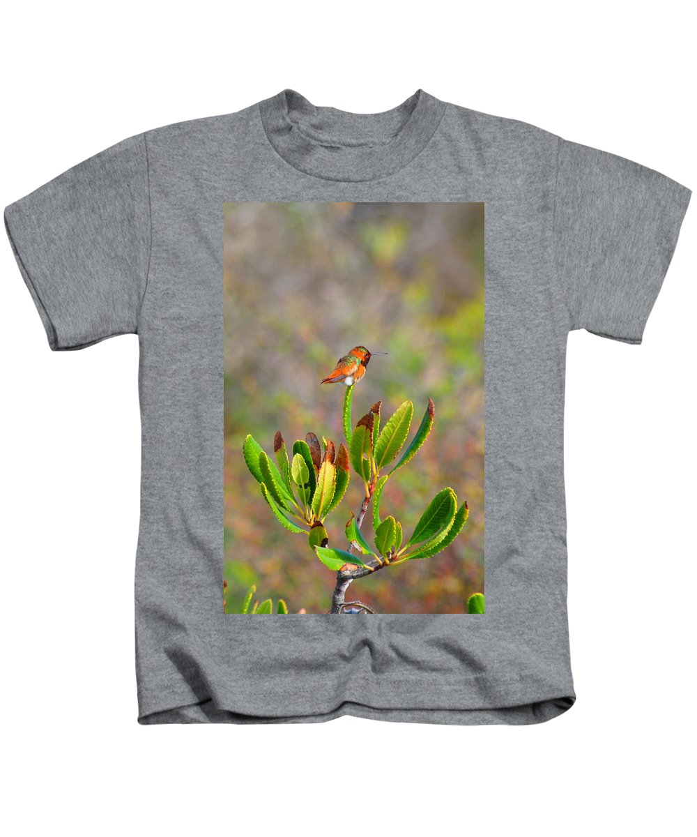 Hummer Kids T-Shirt featuring the photograph Beach Hummer by Lynn Bauer
