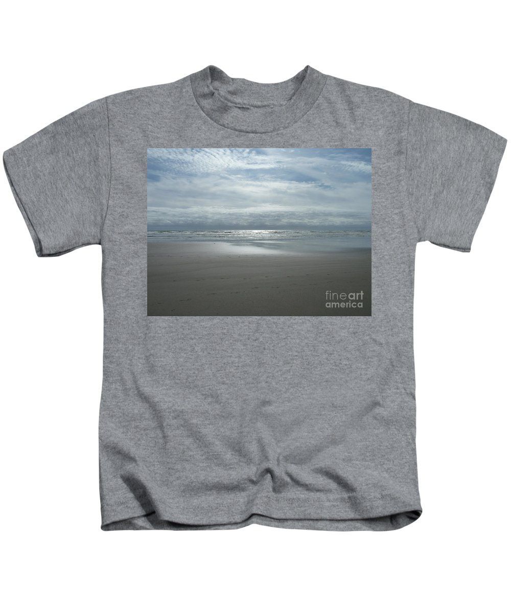 Seaside Kids T-Shirt featuring the photograph The Way by Lauren Leigh Hunter Fine Art Photography