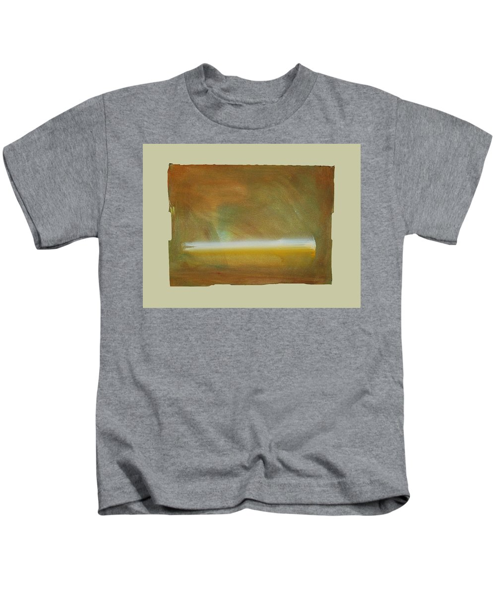 Tsunami Kids T-Shirt featuring the painting Turner Tide by Charles Stuart