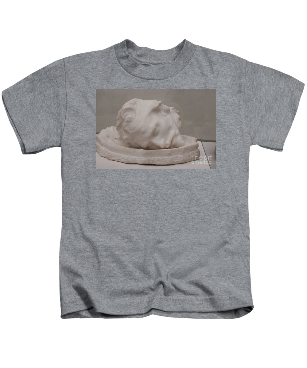 California Kids T-Shirt featuring the digital art Legion Of Honor Museum San Francisco by Carol Ailles