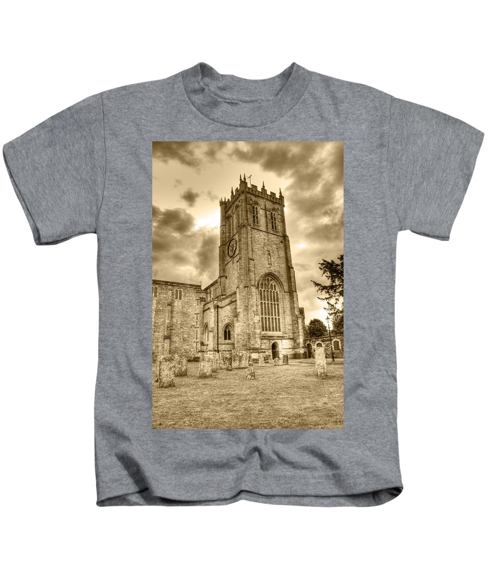 Christchurch Kids T-Shirt featuring the photograph The Priory by Chris Day