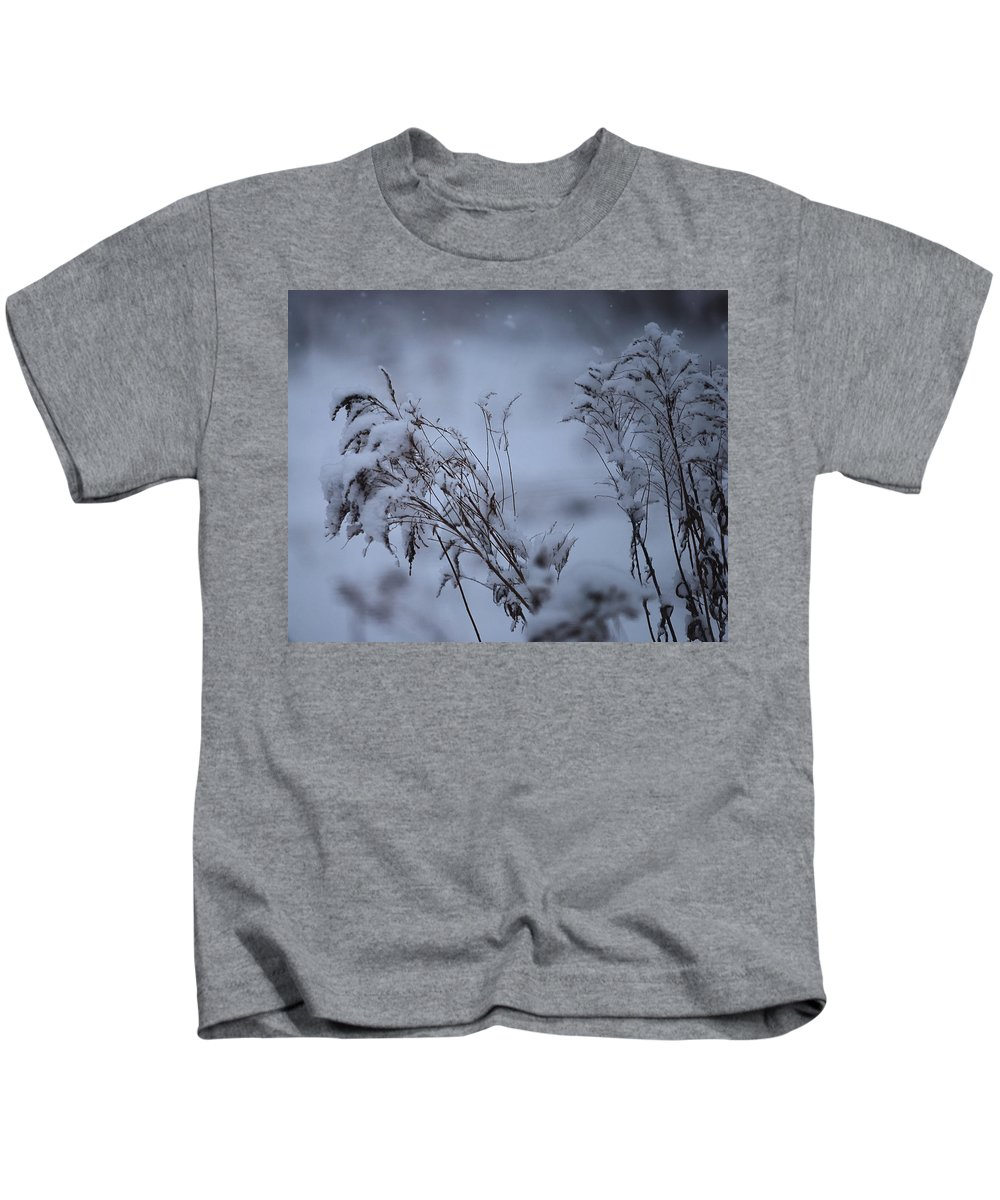 Snow Kids T-Shirt featuring the photograph A Soft Coat by Susan Capuano