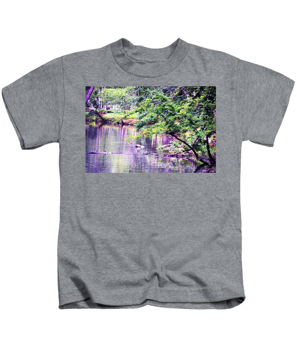 Summer Kids T-Shirt featuring the photograph A Summer's Afternoon by Maria Urso