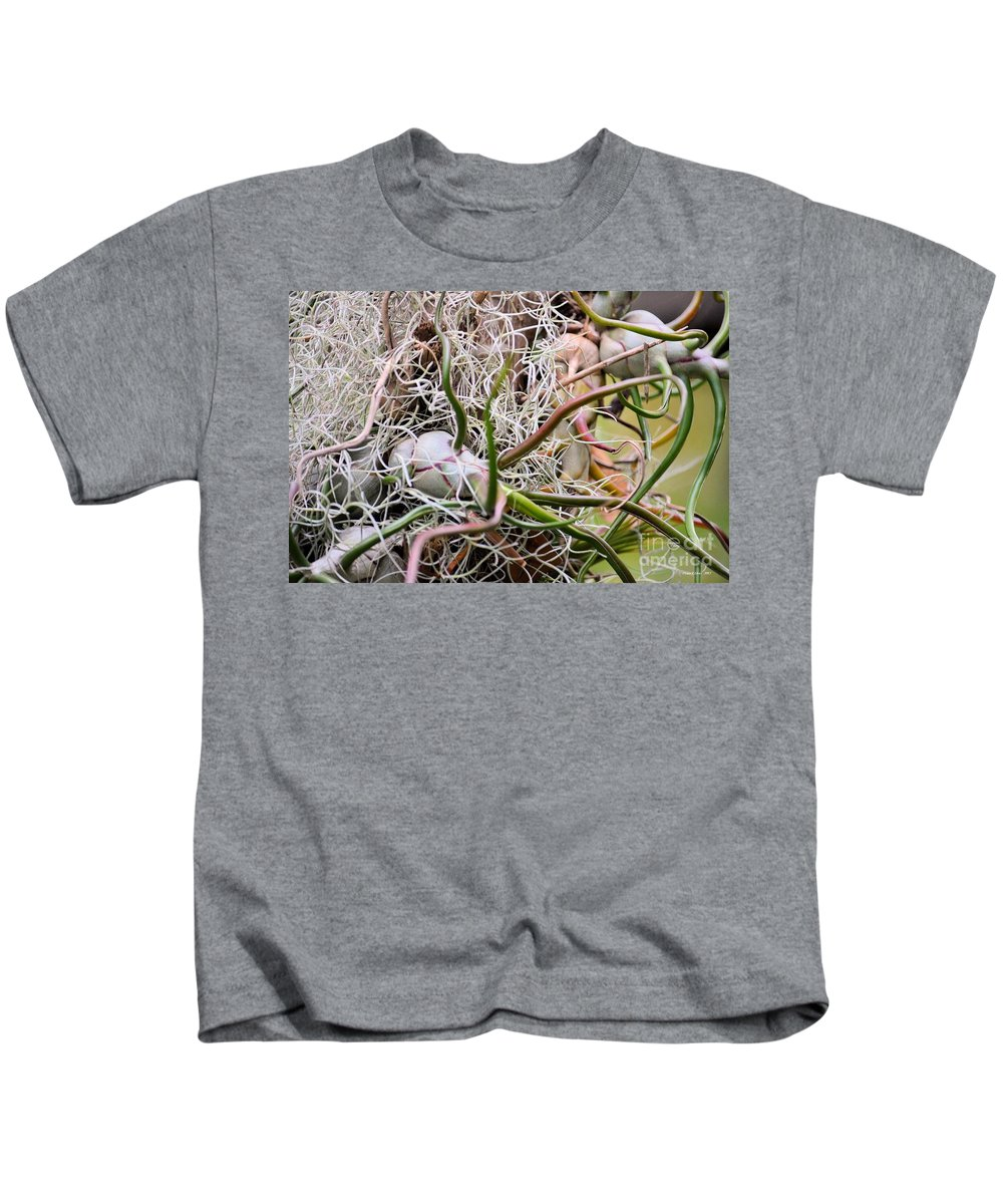 Abstract Kids T-Shirt featuring the photograph Abstract Caput Medusae by Maria Urso