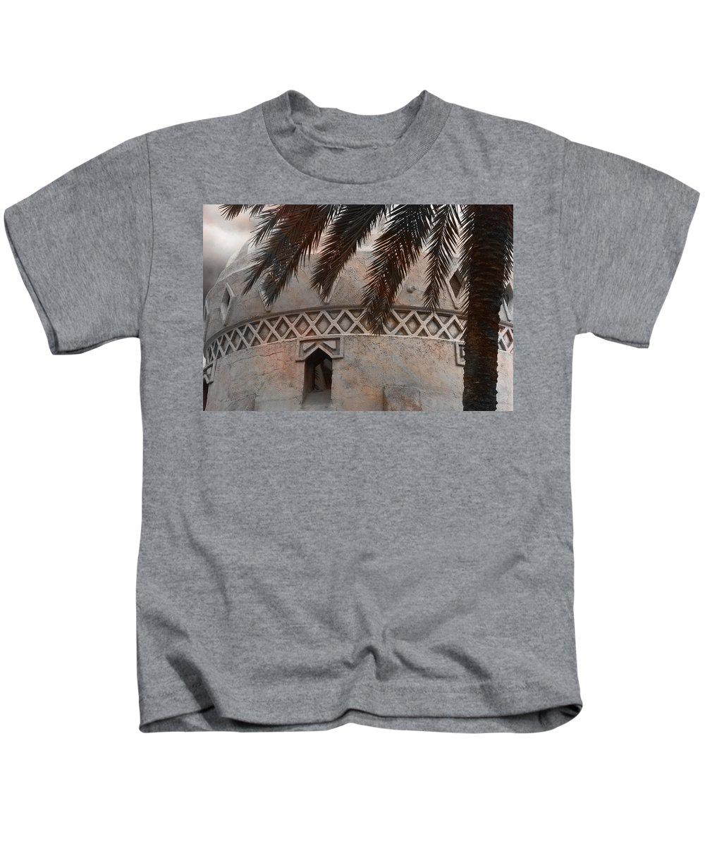 Palm Tree Kids T-Shirt featuring the photograph Adelita's Attic by Trish Tritz