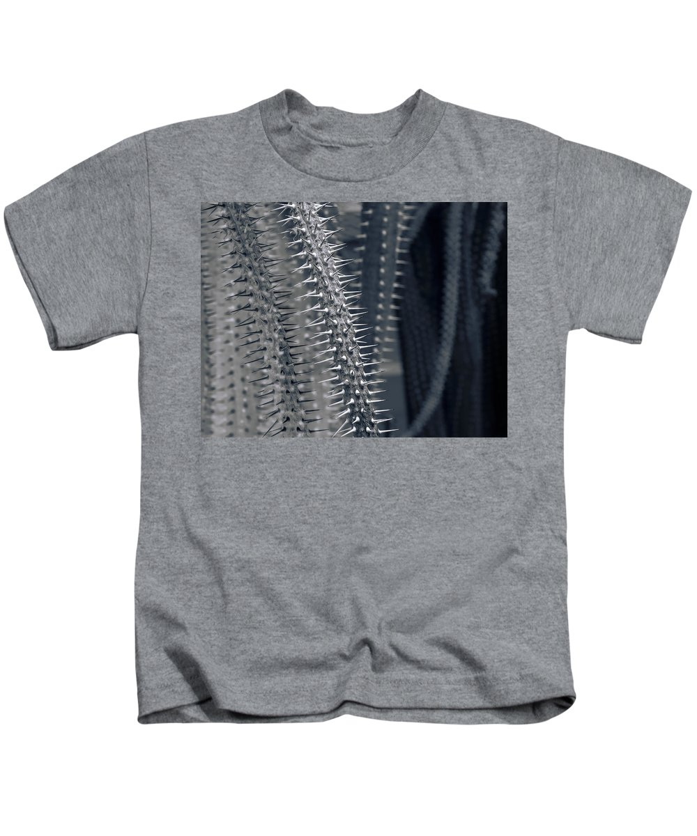 Abstract Kids T-Shirt featuring the photograph Alien Encounter by Wayne Sherriff