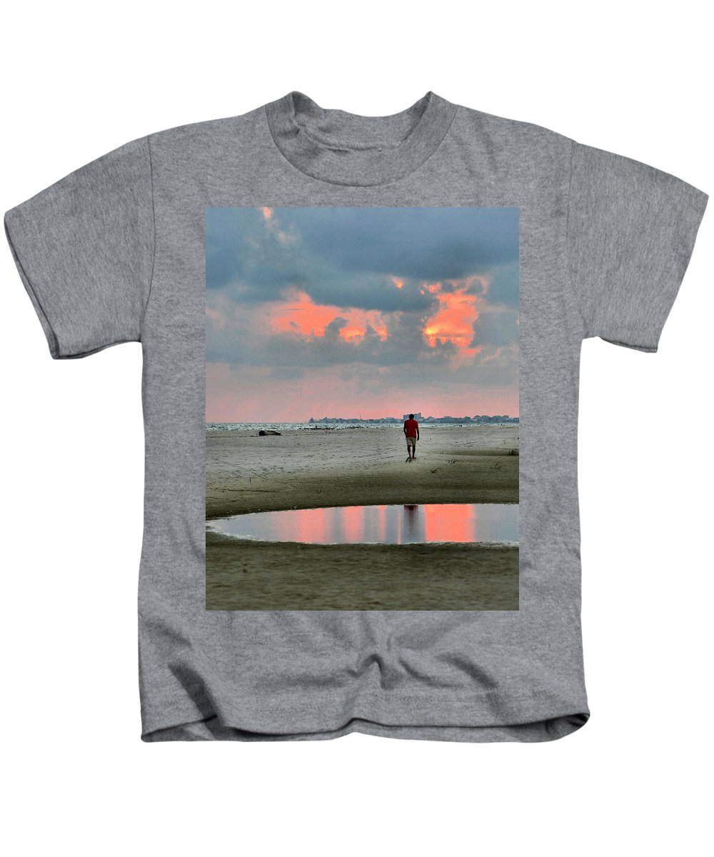 Man Kids T-Shirt featuring the photograph Alone by Kristin Elmquist