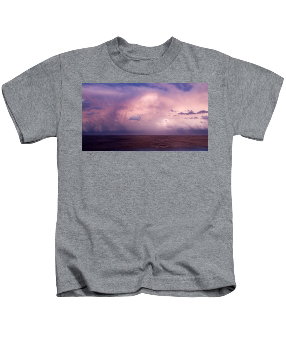 Amazing Kids T-Shirt featuring the photograph Amazing Skies by Stelios Kleanthous