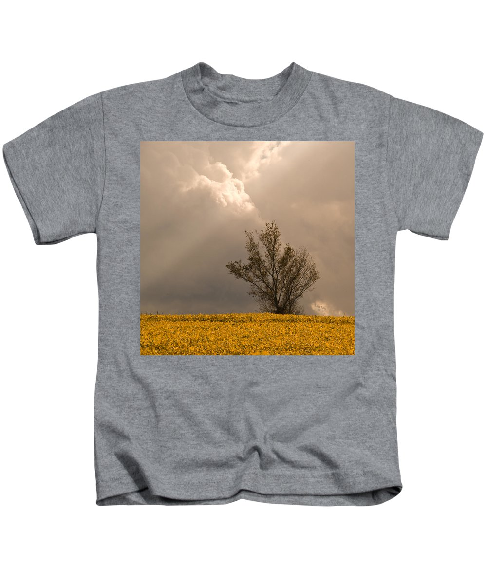Tree Kids T-Shirt featuring the photograph Angel From Heaven by Trish Tritz