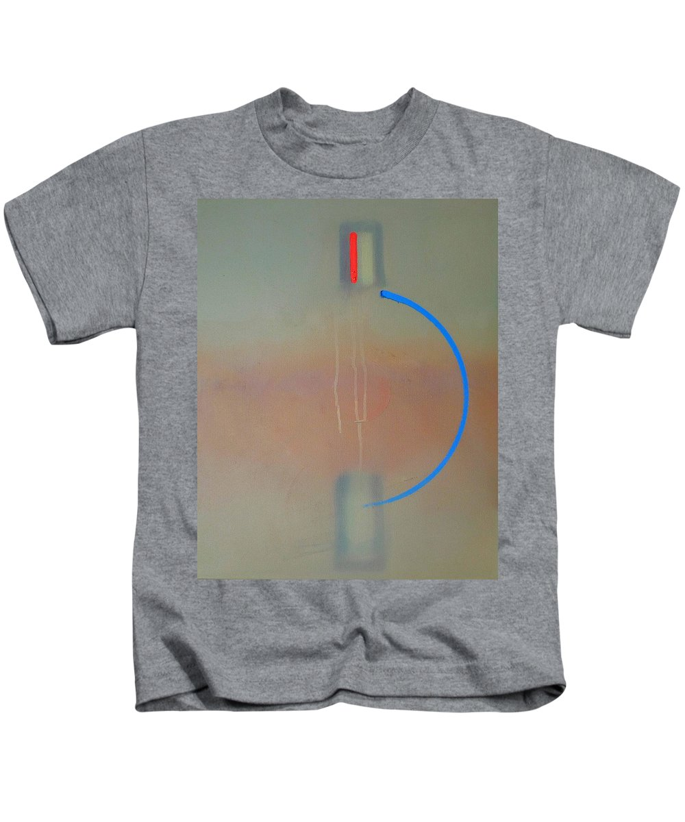 Arc Kids T-Shirt featuring the painting Arc by Charles Stuart