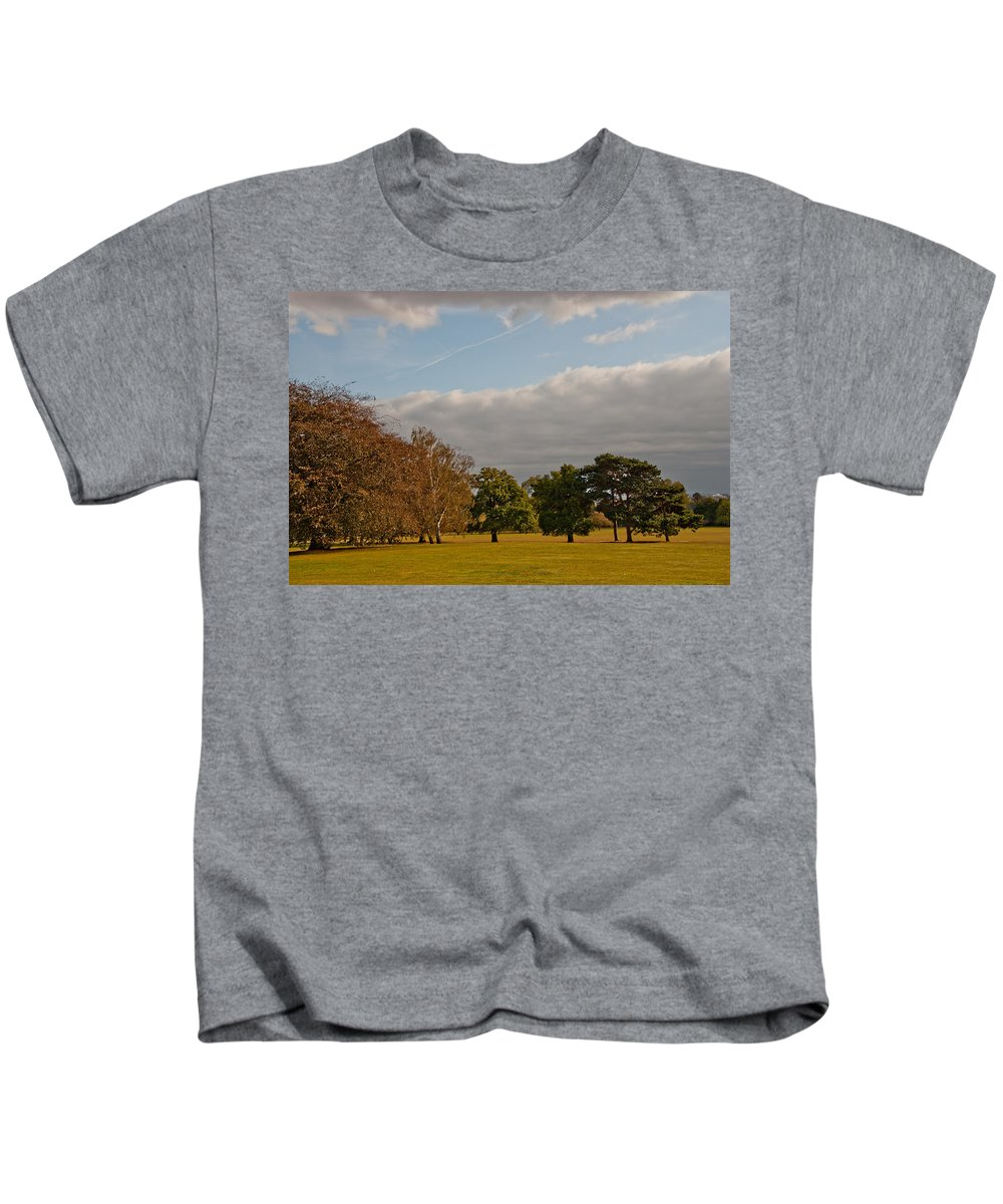 Avery Hill Kids T-Shirt featuring the photograph Avery Hill Park by Dawn OConnor