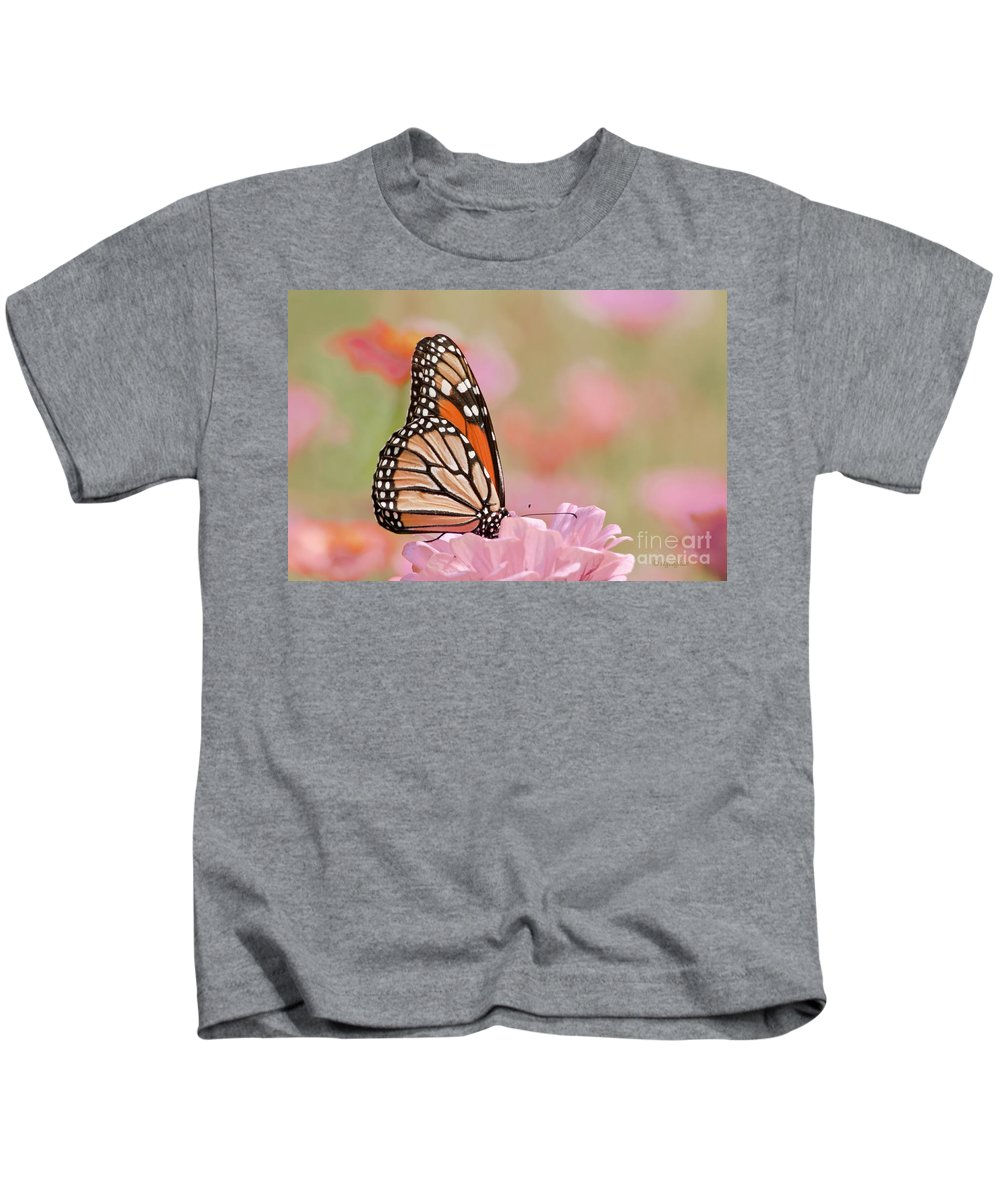 Butterfly Kids T-Shirt featuring the photograph Butterfly Garden Iv by Regina Geoghan