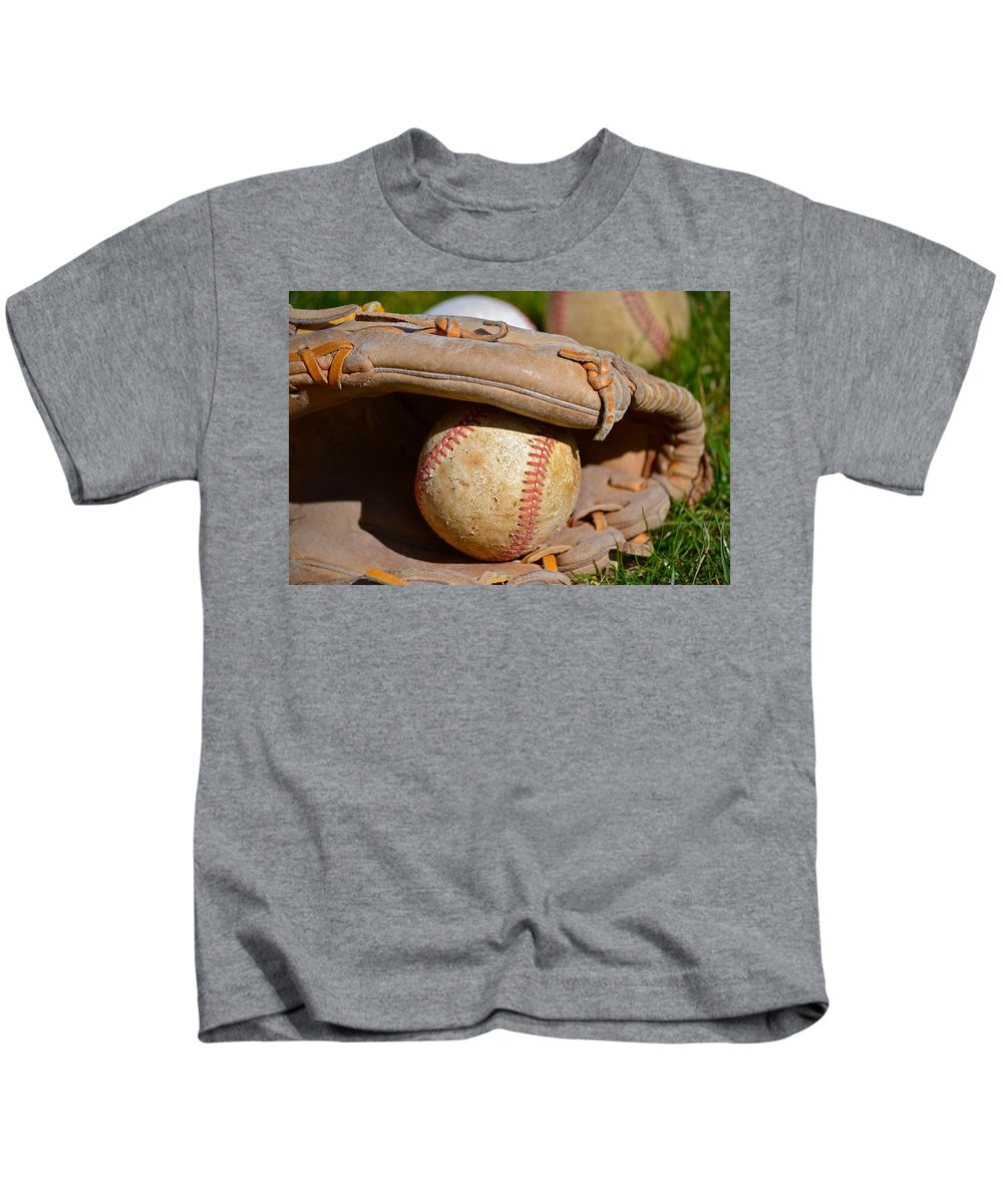 Can Of Corn Kids T-Shirt featuring the photograph Can Of Corn by Bill Owen