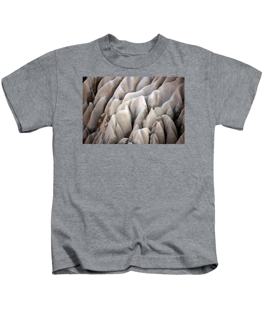 Fairy Chimneys Kids T-Shirt featuring the photograph Cappadocia Rocks by RicardMN Photography