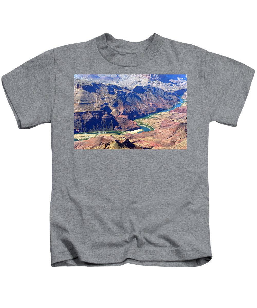 Colorado River Kids T-Shirt featuring the photograph Colorado River IIi by Julie Niemela