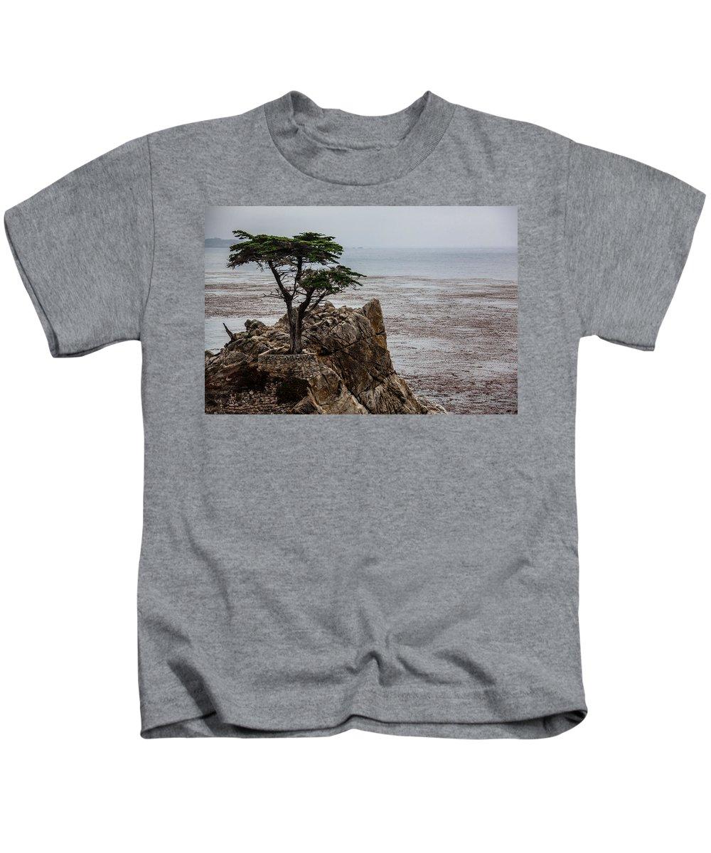 Cypress Kids T-Shirt featuring the photograph Cpress by Ralf Kaiser