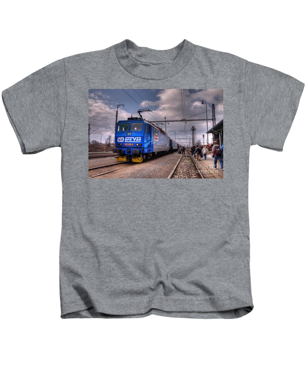 Czech Kids T-Shirt featuring the photograph Czech Express by Rob Hawkins