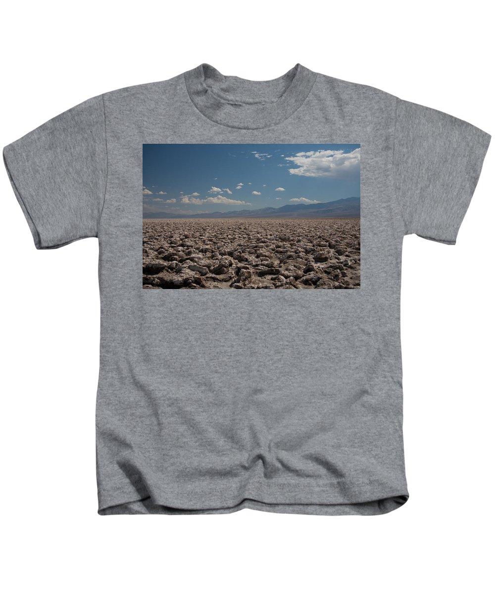 Salt Kids T-Shirt featuring the photograph Devils Golf Course by Ralf Kaiser