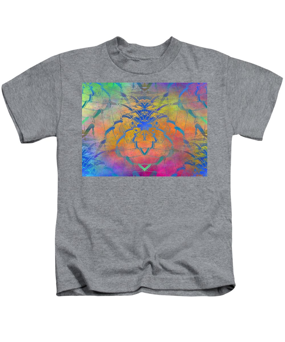 Fence Kids T-Shirt featuring the digital art Dont Fence Me In by Tim Allen