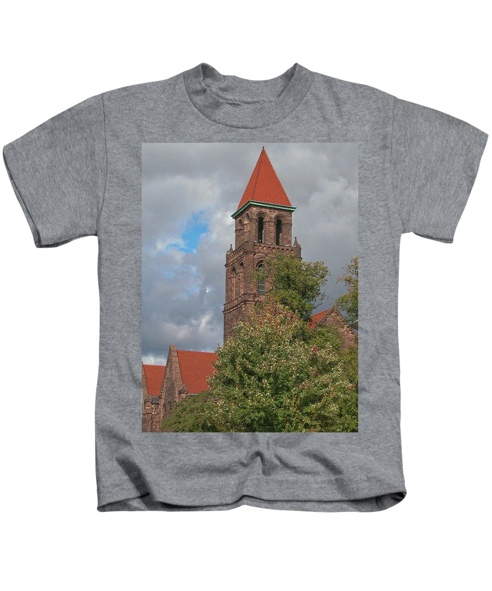 Buffalo Kids T-Shirt featuring the photograph Elmwood Avenue 13091 by Guy Whiteley