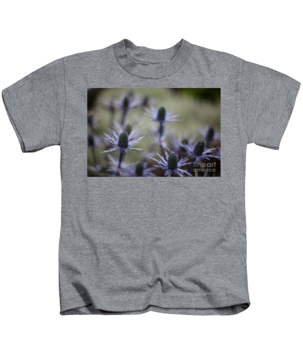 Flower Kids T-Shirt featuring the photograph Garden Facets by Mike Reid