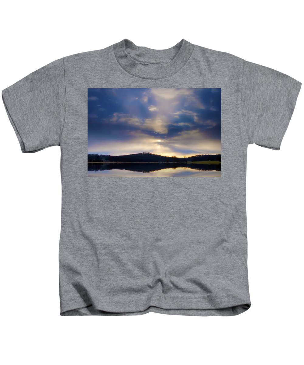 Sky Kids T-Shirt featuring the photograph Glorious Skies by Bill Cannon