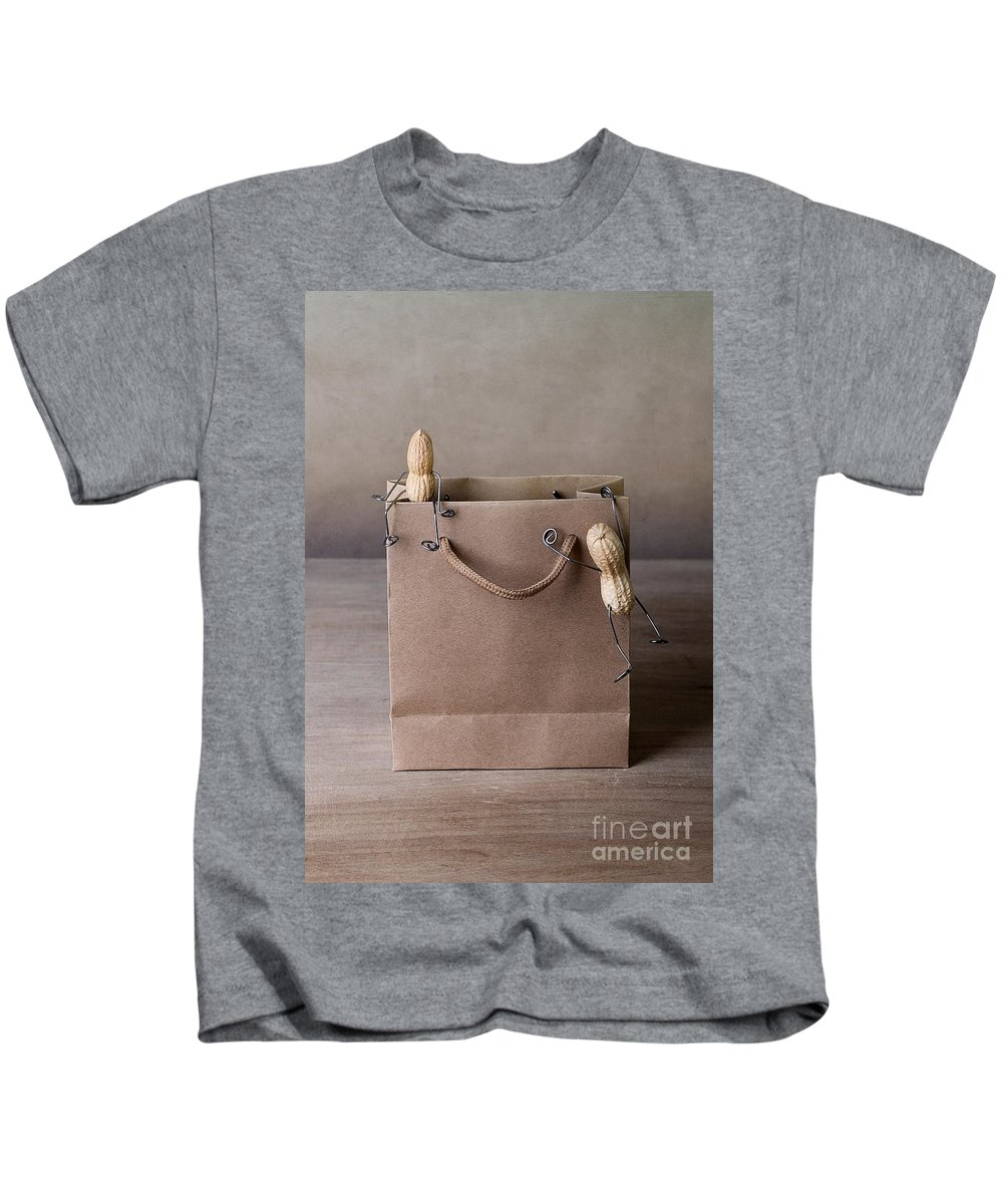 Peanut Kids T-Shirt featuring the photograph Going Shopping 02 by Nailia Schwarz