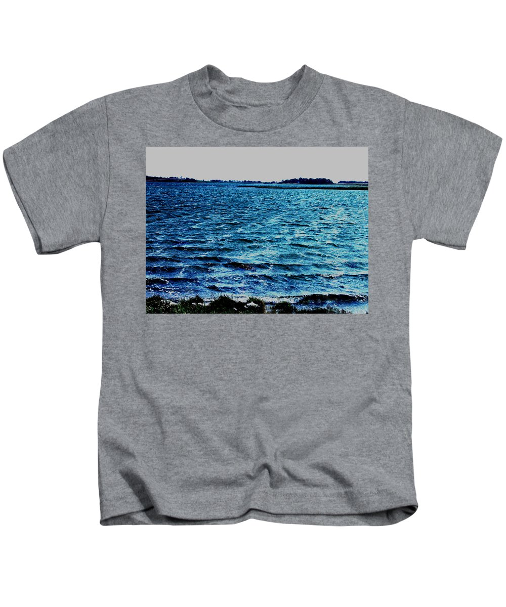 Colette Kids T-Shirt featuring the photograph Goodmorning Waves by Colette V Hera Guggenheim