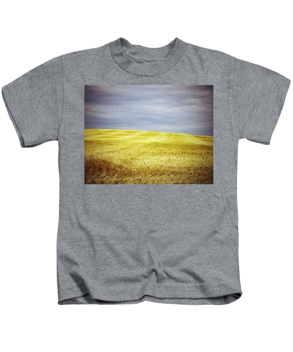 Street Photography Photographs Framed Prints Photographs Framed Prints Kids T-Shirt featuring the photograph Hills Of Gold by The Artist Project