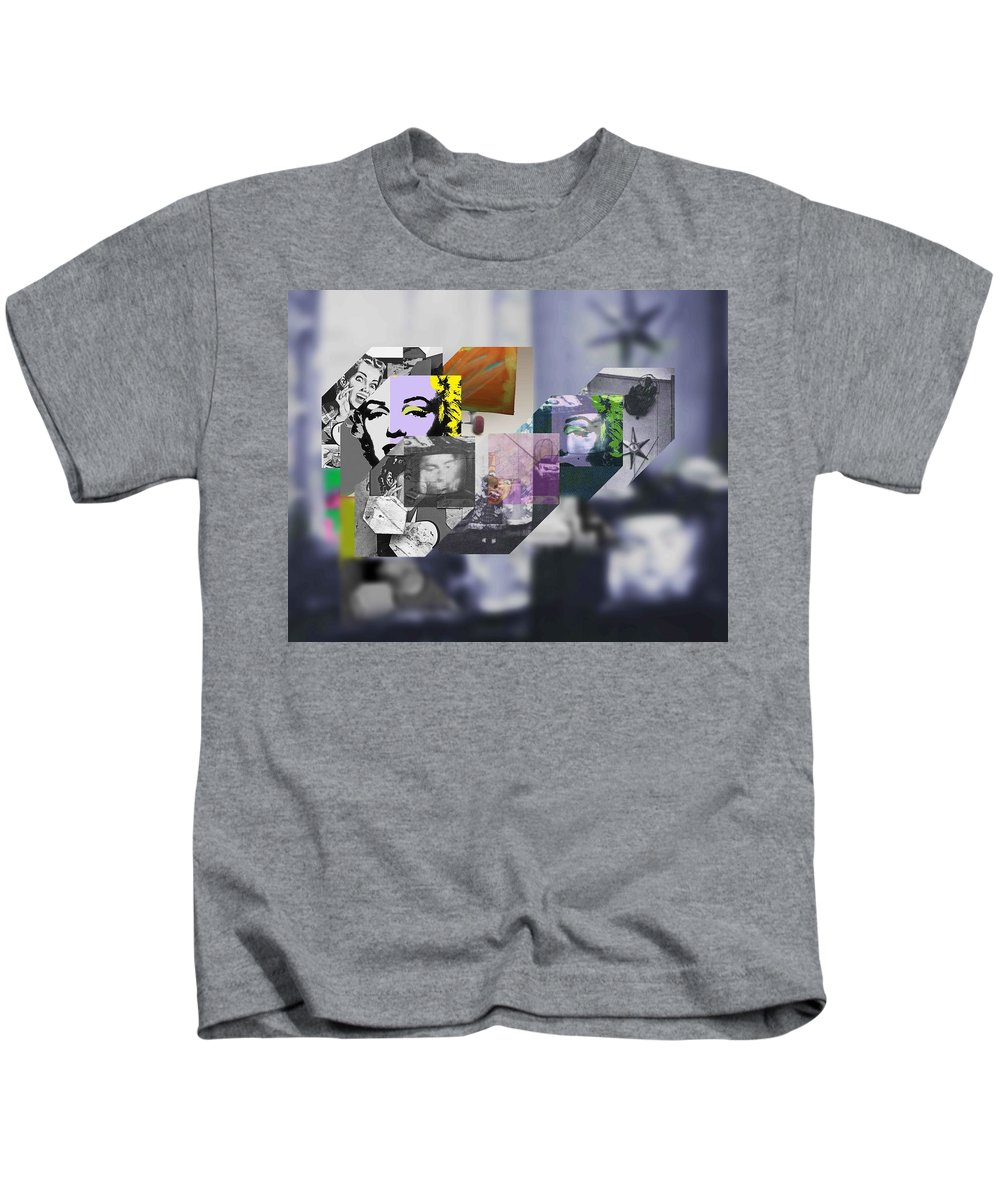 Harlem Kids T-Shirt featuring the painting Interior Iv by Charles Stuart