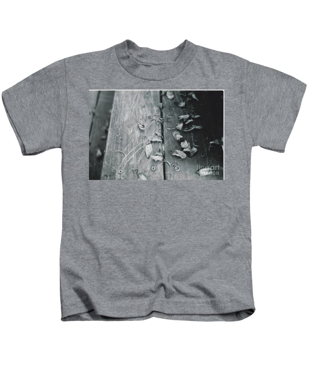 Photo Shot With A 32 Year Old Minolta Xg-m 35mm Slr Kids T-Shirt featuring the photograph Light And Dark by Catherine Conroy