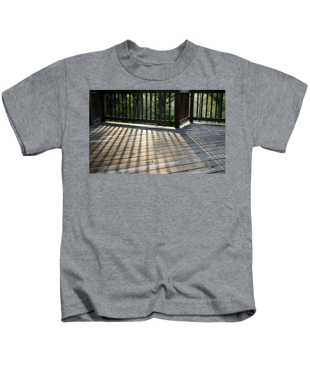 Light Kids T-Shirt featuring the photograph Light And Shadow by Kristin Elmquist