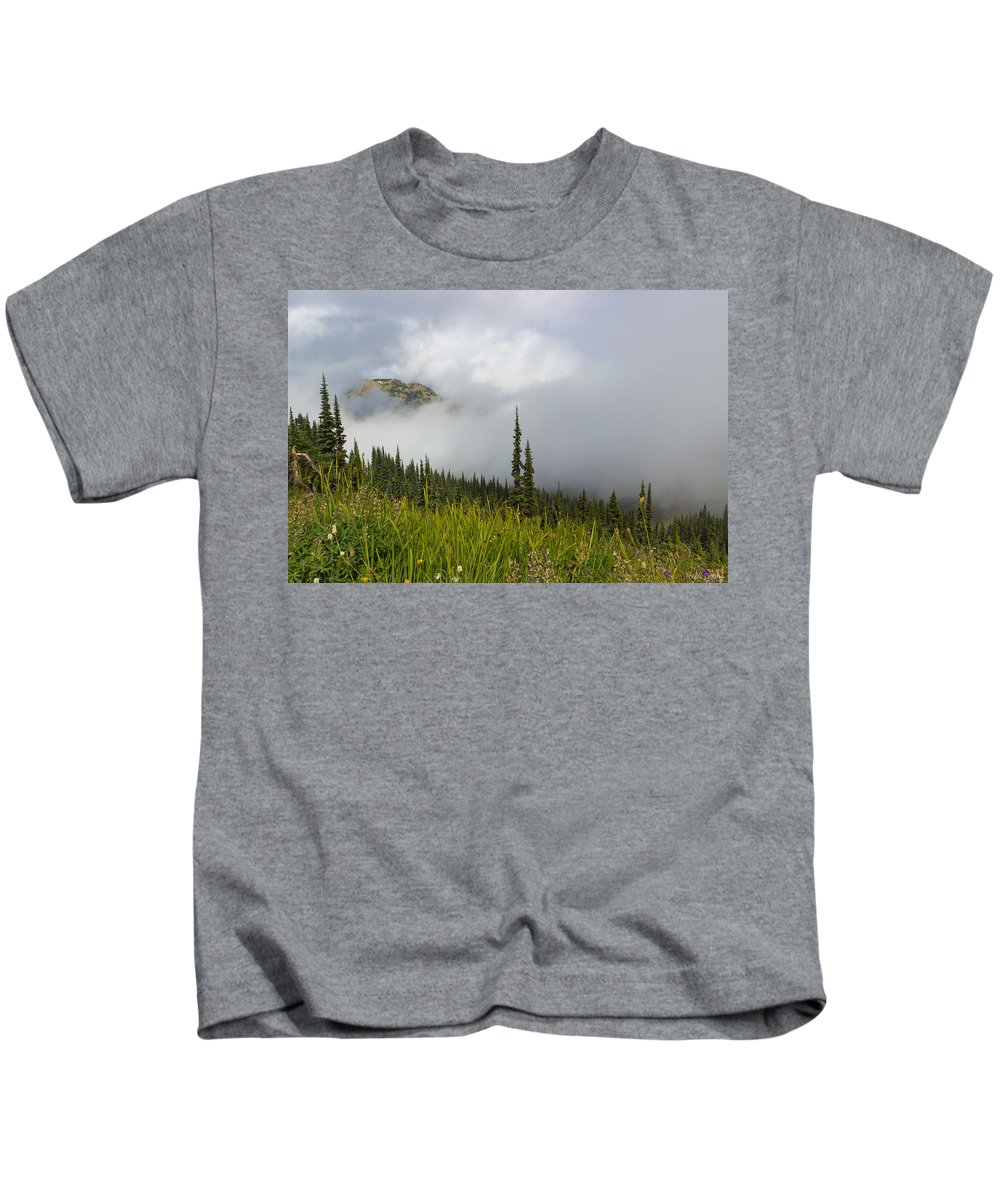 Clouds Kids T-Shirt featuring the photograph Little Slice Of Heaven by Heidi Smith
