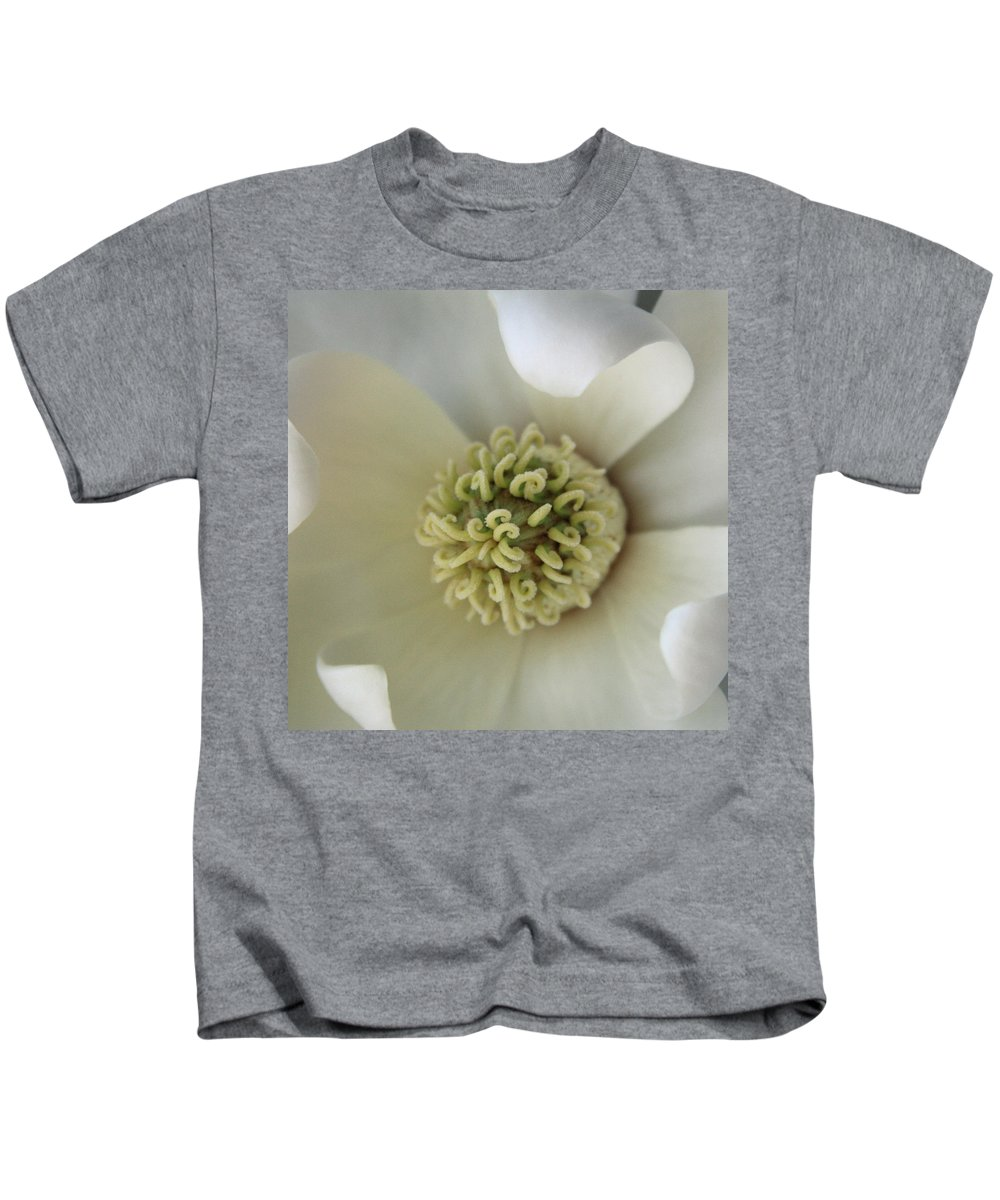 Magnolia Kids T-Shirt featuring the photograph Magnolia by Carolyn Stagger Cokley