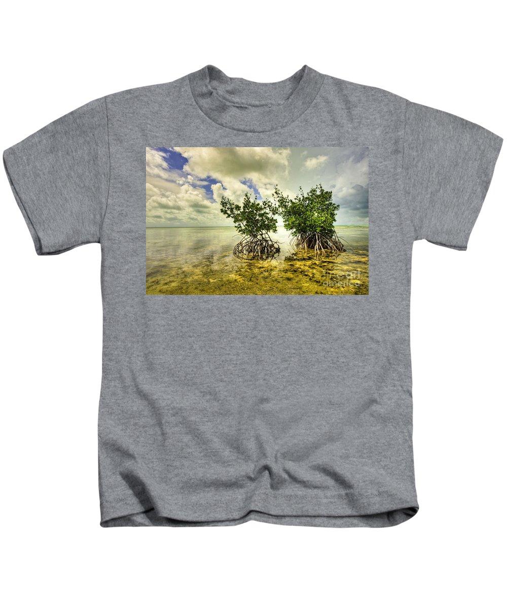 Mangrove Kids T-Shirt featuring the photograph Mangrove II by Bruce Bain