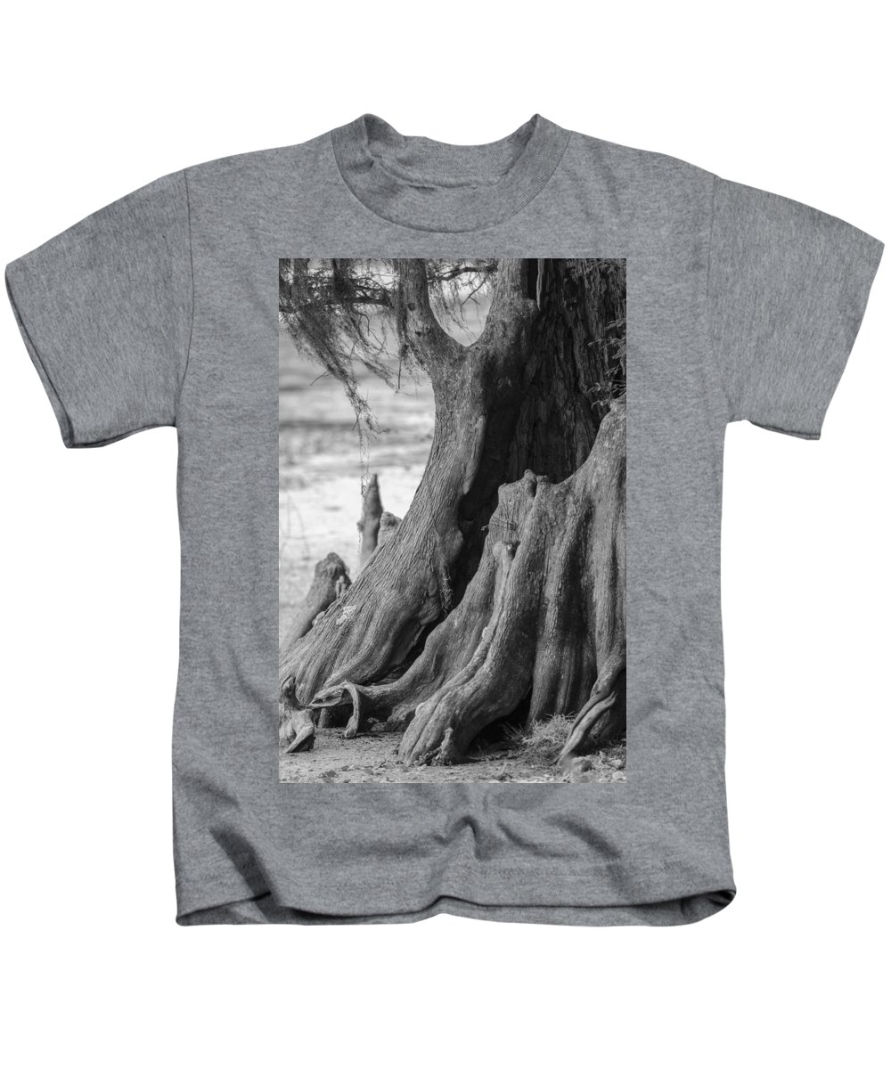 bald Cypress Kids T-Shirt featuring the photograph Natural Cypress by Carolyn Marshall