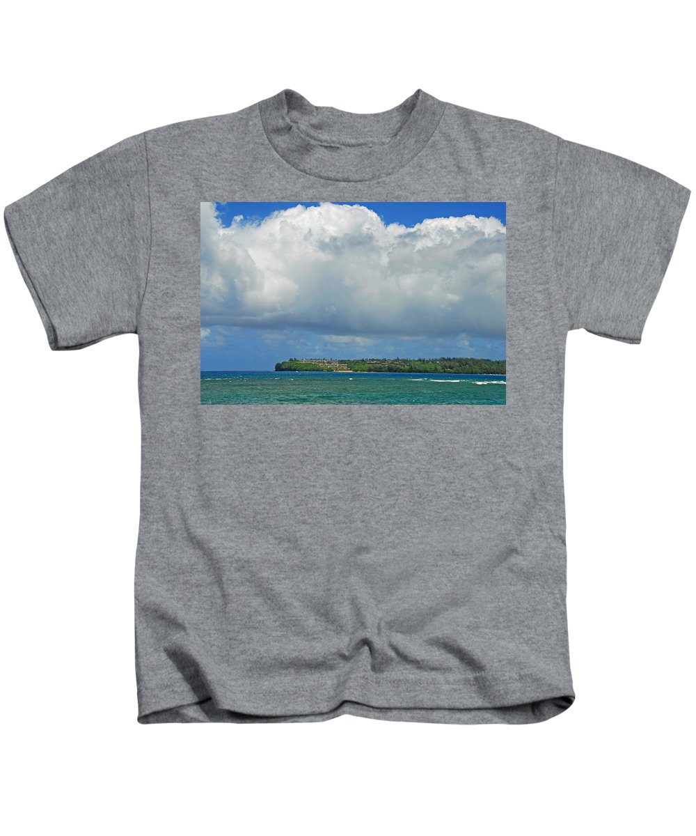 Paradise Kids T-Shirt featuring the photograph Natures Grandeur by Lynn Bauer