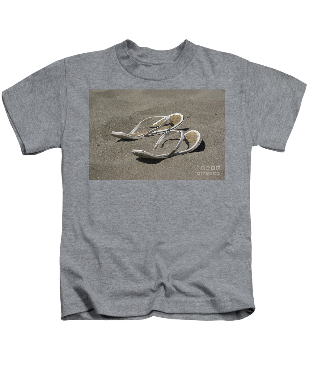 Beach Kids T-Shirt featuring the photograph Old Friends by Jim And Emily Bush
