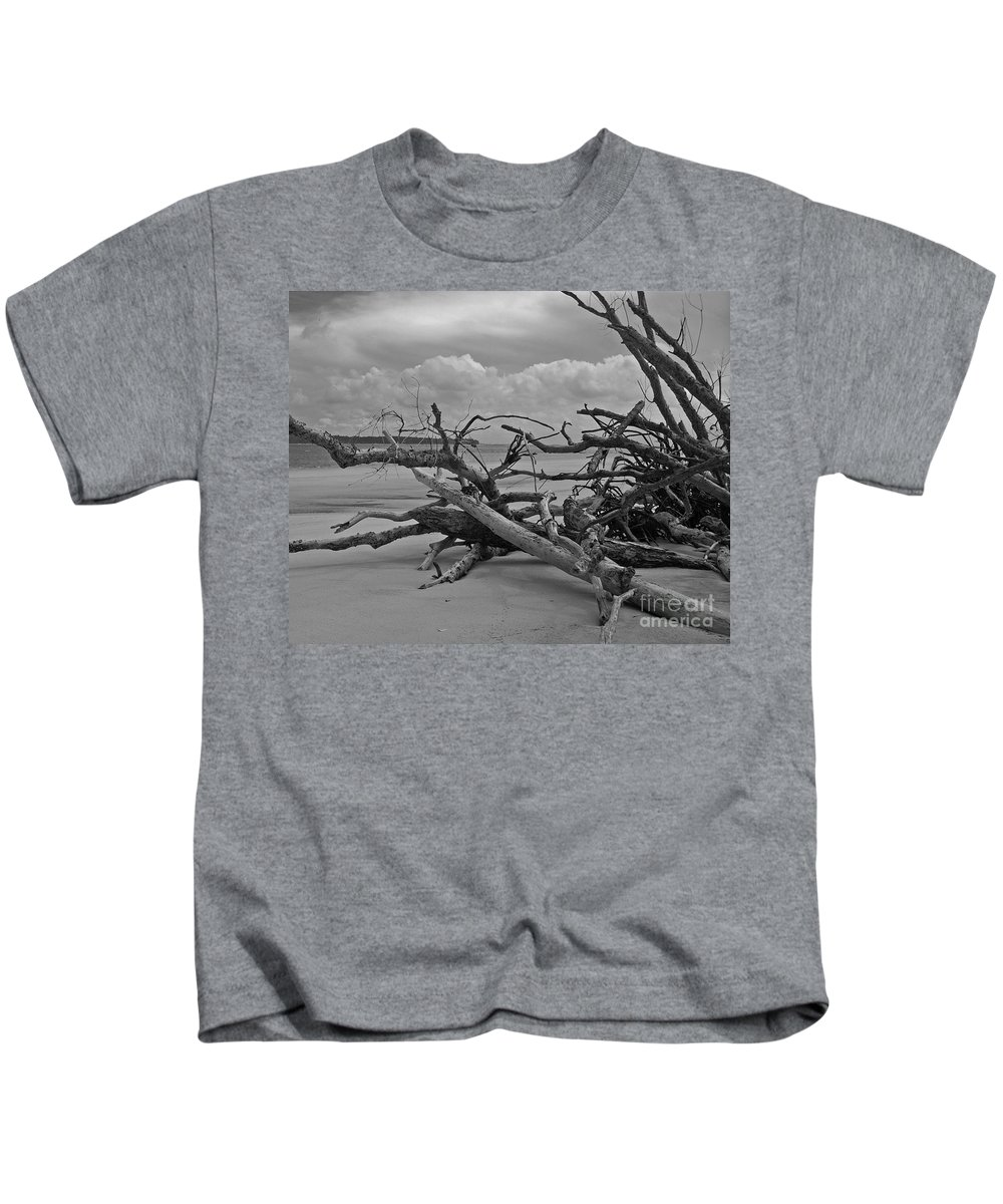 Georgia Kids T-Shirt featuring the photograph Ossabaw Island 1 by Susan Cliett