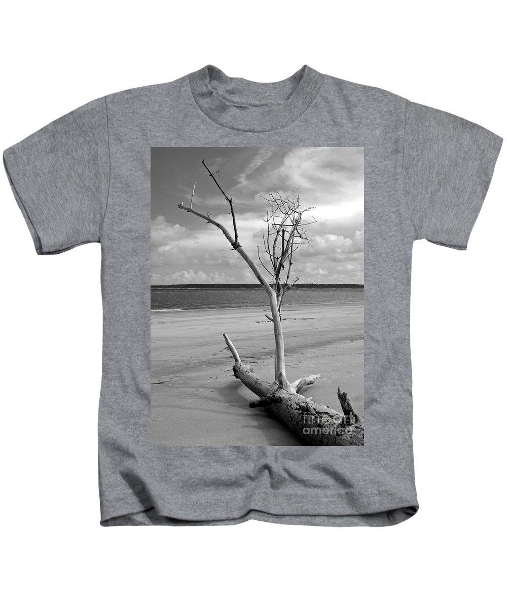 Beach Kids T-Shirt featuring the photograph Ossabaw Island 2 by Susan Cliett