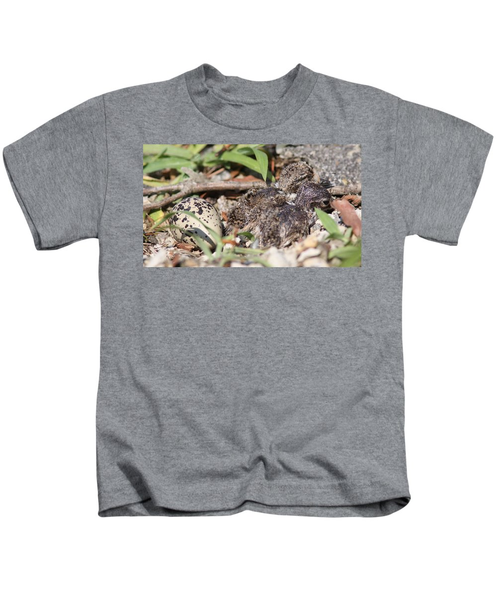 Birth Of The Killdeer Kids T-Shirt featuring the photograph Photo 1 by Travis Truelove