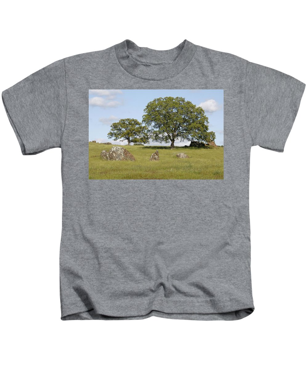 Pleasant Hillside Kids T-Shirt featuring the photograph Pleasant Hillside by Wes and Dotty Weber