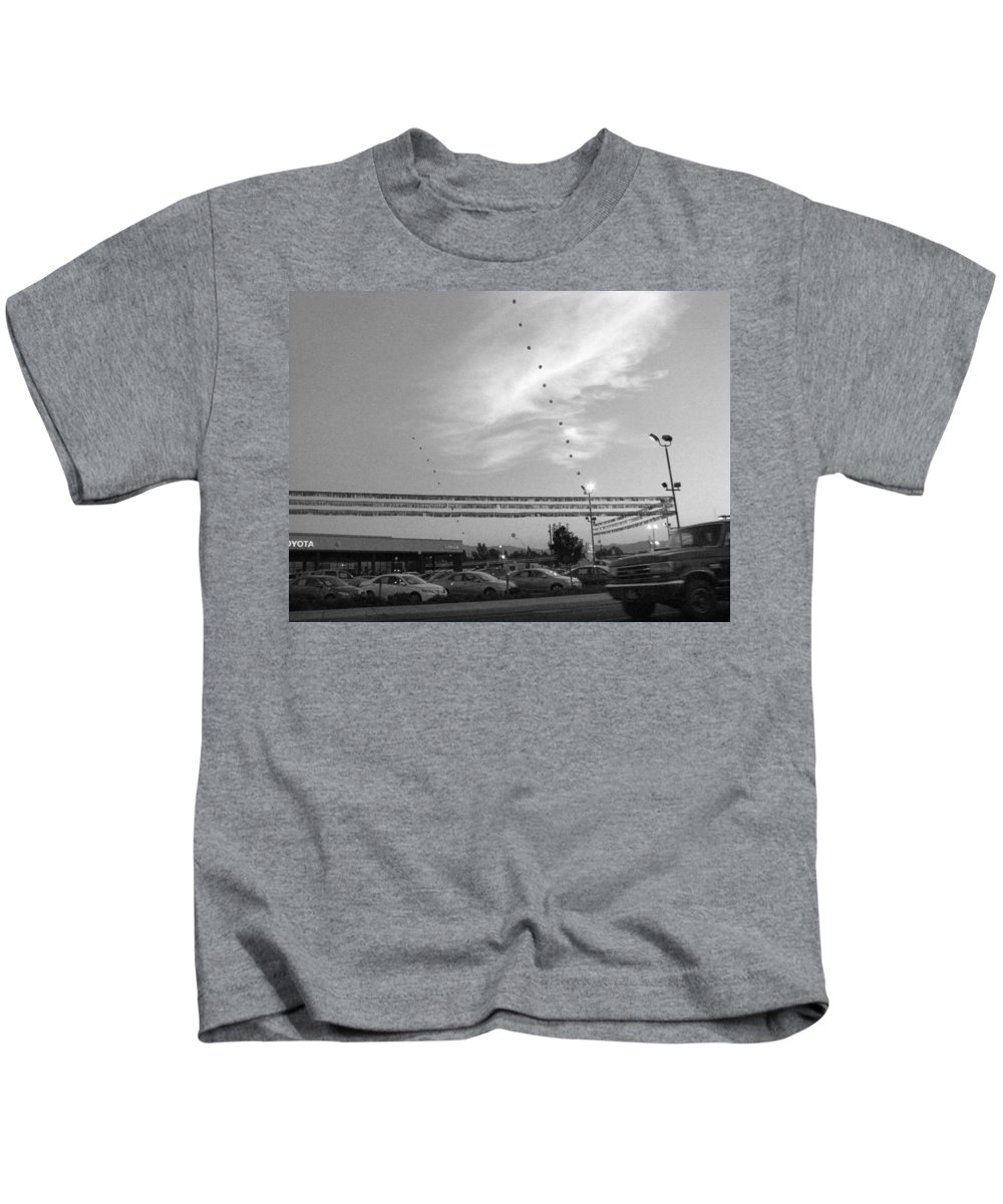 Urban Kids T-Shirt featuring the photograph Reaching For The Sky by Kathleen Grace