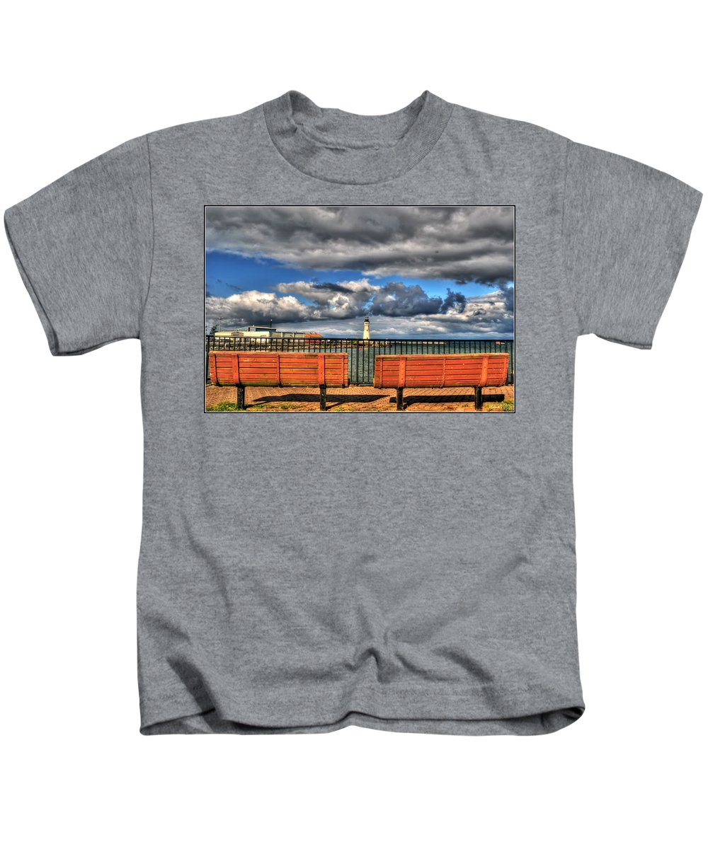 Kids T-Shirt featuring the photograph Romantically Empty As I Wait by Michael Frank Jr