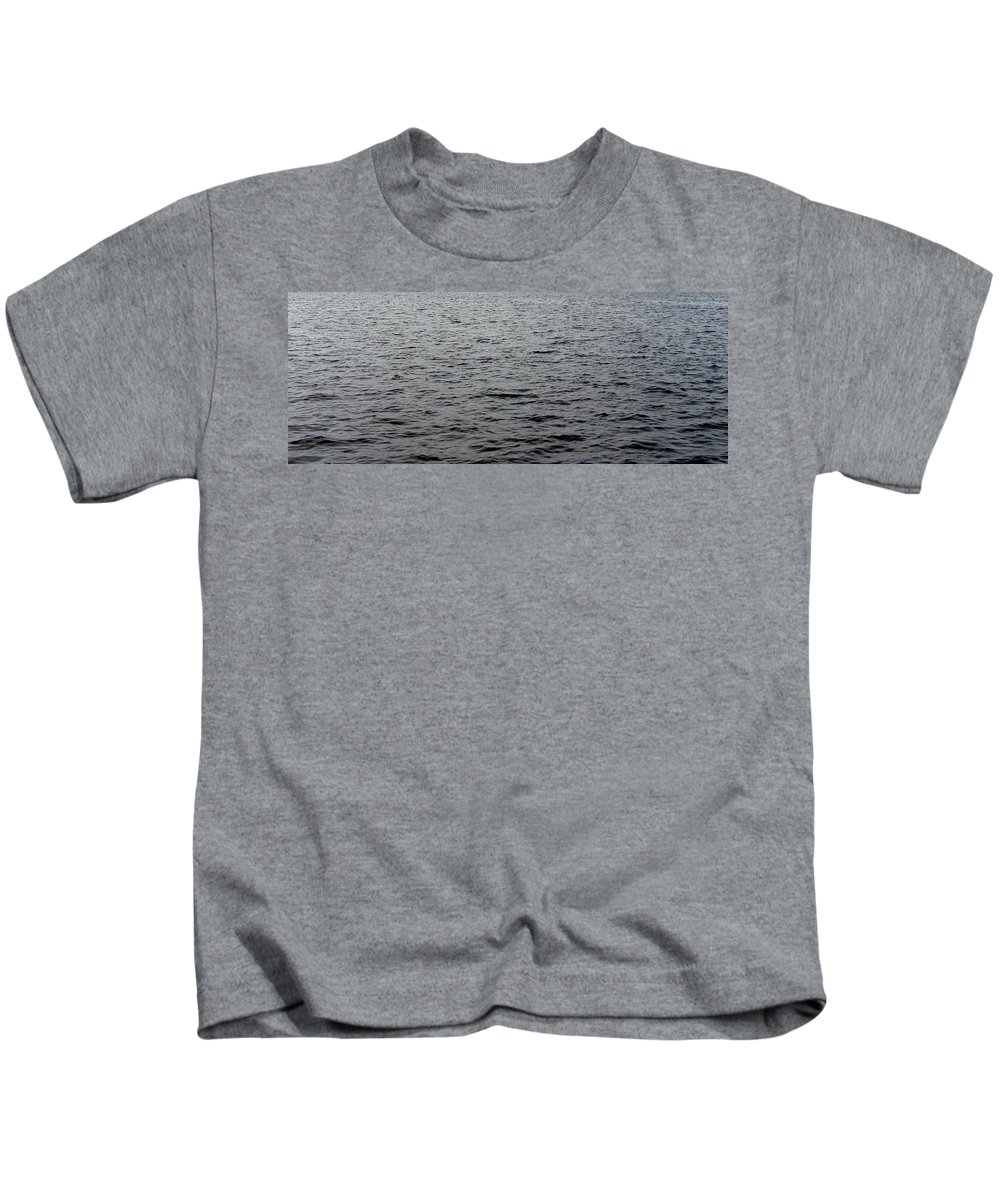 Sea Kids T-Shirt featuring the photograph Sea by Are Lund