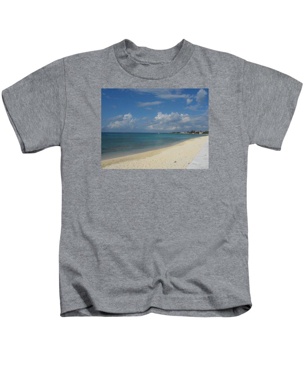 Beach Kids T-Shirt featuring the photograph Serenity by Sandra Vasko