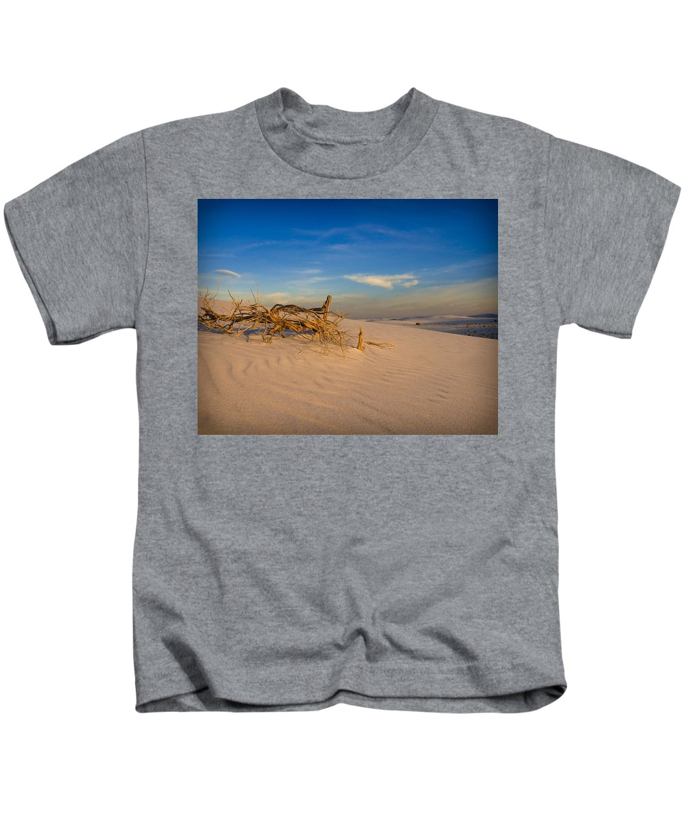 New Mexico Kids T-Shirt featuring the photograph Sticks by Sean Wray