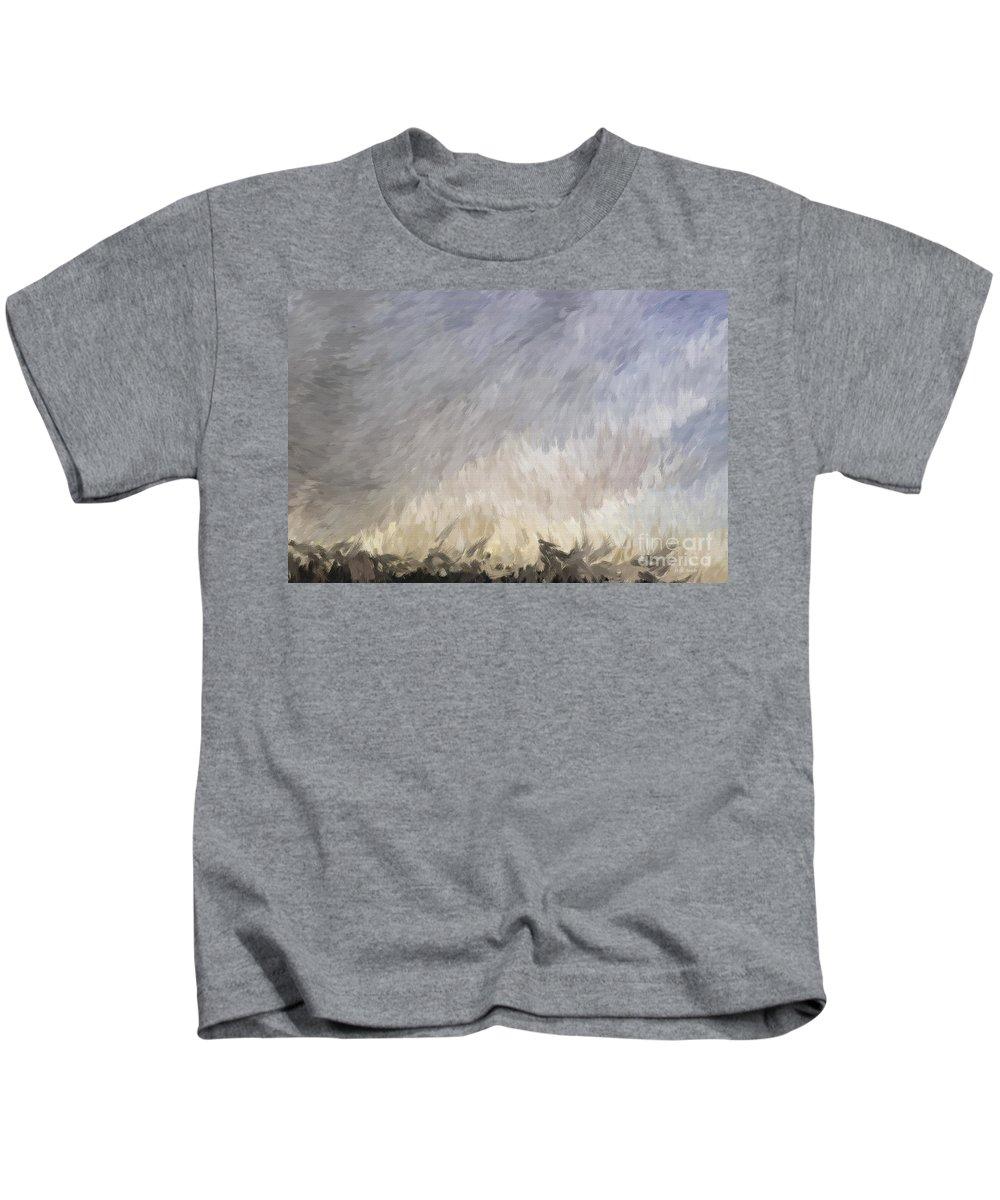 Storm Kids T-Shirt featuring the digital art Storm In Life by Deborah Benoit